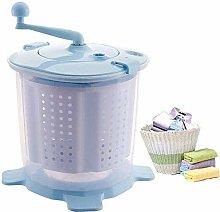 WLL-DP Mini Hand Crank Washing Machine Dehydrator,
