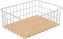 WLNKJ Wire Storage Basket, Household