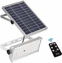 Wlnnes 30W Solar Flood Lights Outdoor 3 Modes, 600