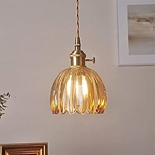 Wlnnes Lampshade Copper Ceiling Lamp, Siet Modern