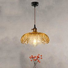 WLP-WF Brown Glass Pendant Lamp Single Head
