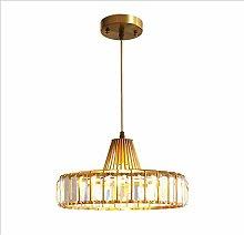 WLP-WF Chandelier Crystal Ceiling Light Brass