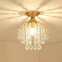 WLP-WF Chandelier Crystal Ceiling Light Copper