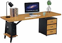 WLP-WF Computer Desk Retro Solid Wood Computer