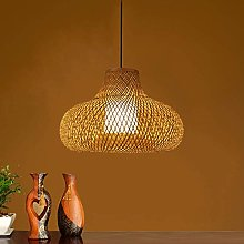 WLP-WF Dining Table Hanging Lamp Hand Woven Bamboo