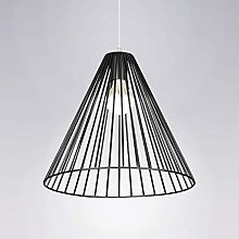WLP-WF E27 Dining Table Pendant Lights Black Metal