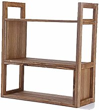 WLP-WF Flower Stand Solid Wood Retro Desk