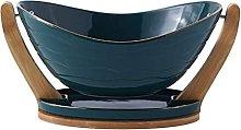 WLP-WF Fruit Bowl Ceramic Fruit Bowl Storage Tray