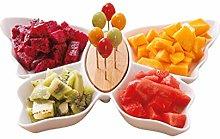WLP-WF Fruit Bowl Ceramic Fruit Plate Home Living