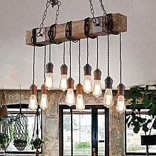 WLP-WF Industry Vintage Pendant Lamp Wood and