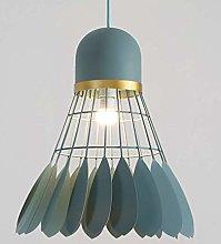 WLP-WF Iron Pendant Lamp Creative Badminton Shape