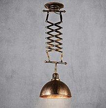 WLP-WF Iron Pendant Lights Rust Color Ceiling