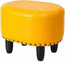 WLP-WF Low Stool Leather Low Stool Sofa Chair