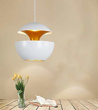 WLP-WF Metal Pendant Lamp White and Gold Hanging