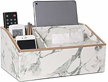 WLP-WF Multifunctional Pu Leather Desk Organizer