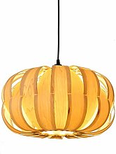 WLP-WF Pendant Lamp Wood Lampshade Height