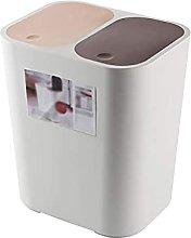 WLP-WF Rubbish Bin Trash Can Plastic Dry Wet