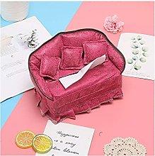 WLP-WF Sofa Tissue Box Cover Cute Girly Tissue Box