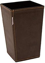 WLP-WF Trash Can, Classic Leather Trash Cans Waste