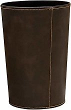 WLP-WF Trash Can, Faux Leather Trash Cans Waste