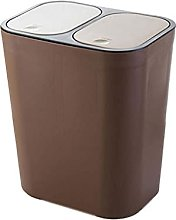 WLP-WF Trash Can, Plastic Trash Can with Press