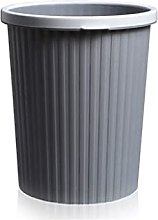 WLP-WF Trash Can, Simple Plastic Trash Can Without