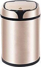 WLP-WF Trash Can, Trash Can Stainless Steel 8L