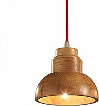 WLP-WF Wood Pendant Lamp Adjustable Height Dining