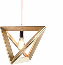 WLP-WF Wooden Pendant Lamp Height Adjustable