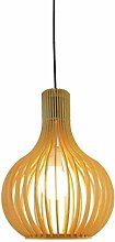 WLP-WF Wooden Pendant Lamp Hollow Design Hanging