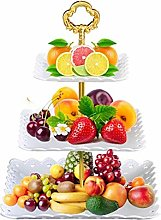 WM-Fruit Plate Cake Stand,3 Tier Fruit
