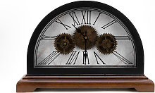WM WIDDOP Dome Mantel Clock with Moving Gears