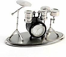 Wm Widdop Miniature Clock - Drum Se