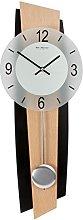 Wm.Widdop Modern Quartz Pendulum Wall Clock