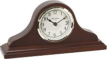Wm. Widdop Napoleon Birch Wood Mantel Clock with