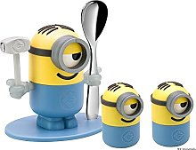 WMF Minions Egg Cup Set of 4, Cups with Spoon,