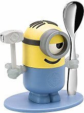 WMF Minions Egg Cup with Spoon Plastic Cromargan