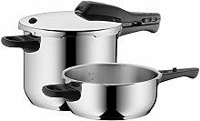 WMF Perfect Pressure Cooker Set 2-Piece 3L & 6.5L