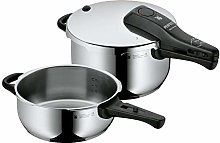 WMF Pressure Cooker Set without Insert, Silver, 22