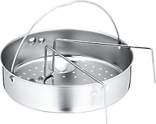 WMF Pressure Cooker Trivet and Perforated Insert,