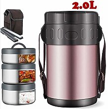 WMWJDQ Lunch thermos, vacuum insulated food