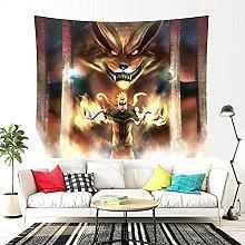 WNJK Tapestries,Anime Ninja Series Art Bedroom
