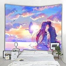 WNJK Tapestries,Anime Sword Art Online Art Bedroom