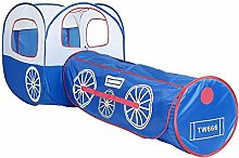 WNN-URG Tent Tunnel,2 In 1 Pop Up Play Tent with