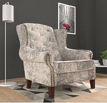 Wobana Wingback Chair Rosalind Wheeler Upholstery
