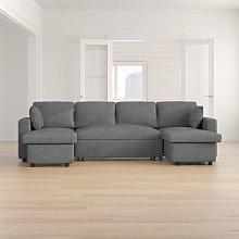 Wobner Sleeper Corner Sofa Bed Zipcode Design