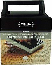 Woca Hand Scrubber Flex Kit with 6 White Polishing
