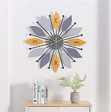 WOCTP Silent Wall Clock Modern Wall Hanging 3D Art