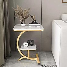 WODMB Small Coffee Table Corner Light Simple