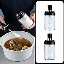 WOHCO Kitchen High Borosilicate Glass Spice Jar